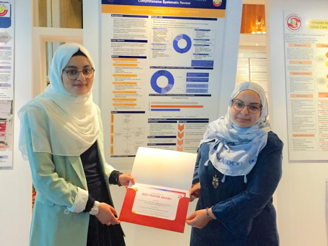 QU College of Pharmacy students participate in fifth Qatar Patient Safety Week and win best poster award