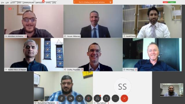 Speakers of the Language Education during the COVID-19 Pandemic webinar, Qatar University, Summer 2020