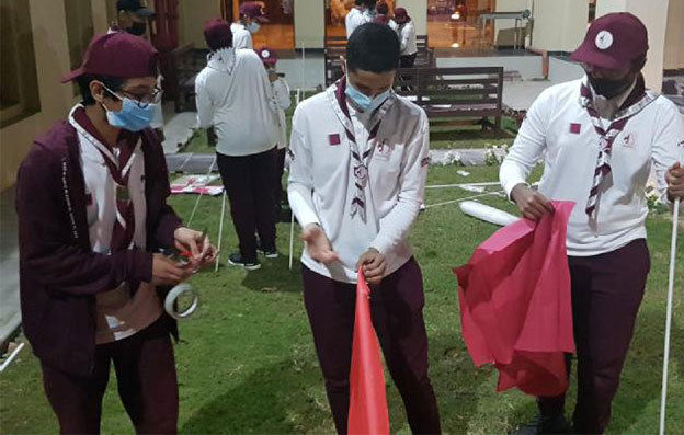 YSC and Qatar Scout Association launch 'Scout Scientific Camp